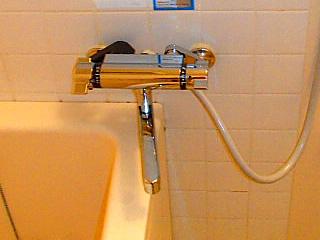 浴室の蛇口交換の事例